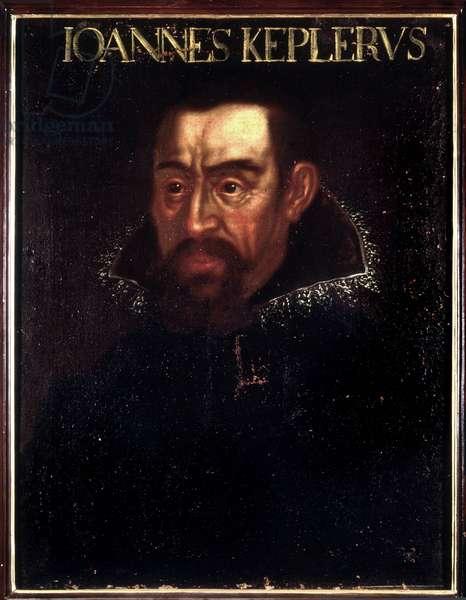 Portrait of Johannes Kepler (Keppler), astronomer (1571 - 1630) - Uffizi Museum, Florence