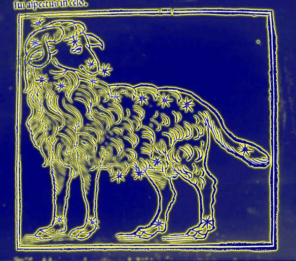 Horoscope: the sign of the ram.