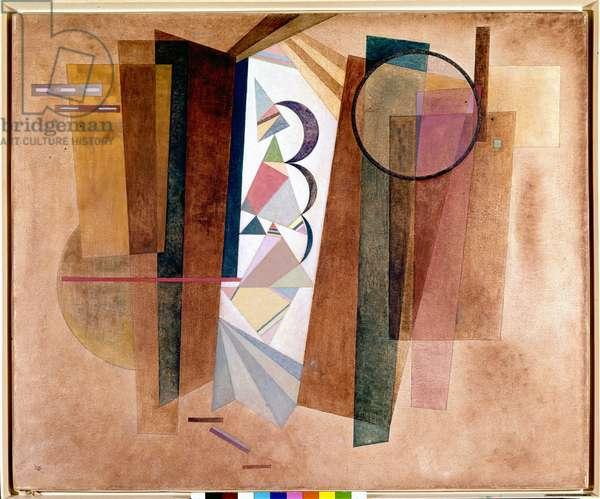 Development in Brown, 1933 (oil on canvas)