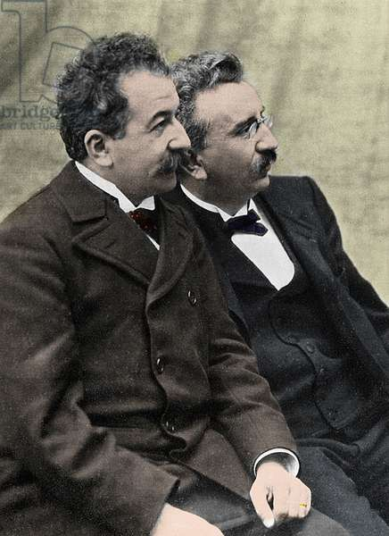 Les Freres Lumiere - Louis Lumiere (1864-1948) and Auguste Lumiere (1862-1954)