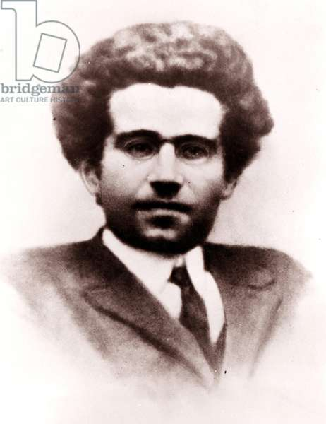 Antonio Gramsci (1891-1937), Italian philosopher and politician.