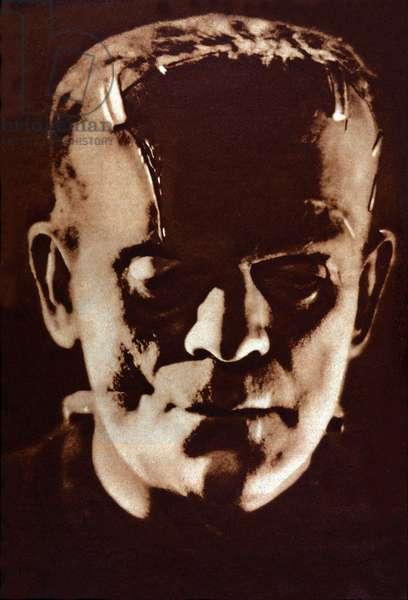 """Boris Karloff in """"Frankenstein"""""""" by James Whale, 1931."""