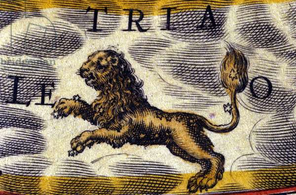 Horoscope: sign of the zodiac, the Lion.