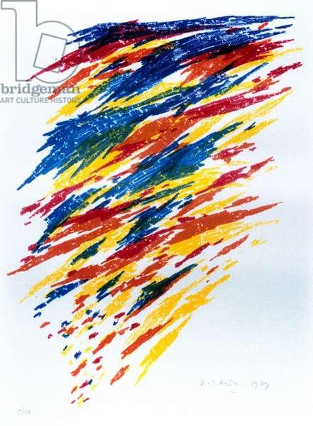 """Illustration for the poem """"Estravagario"""" by Chilean poet Pablo Neruda (1904-1973) 1973"""