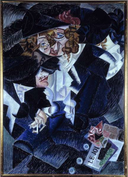 "Futurism: ""Portrait of Madame S."" 1915"