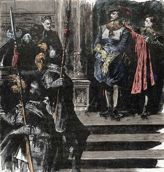 Thirty Years War: The Duke of Friedland Retires from the Army - Thirty Years War (1618-1648): Albrecht (Albert) von Wallenstein (Waldstein) (1583-1634) withdraws from office at the head of the army, January 24, 1634