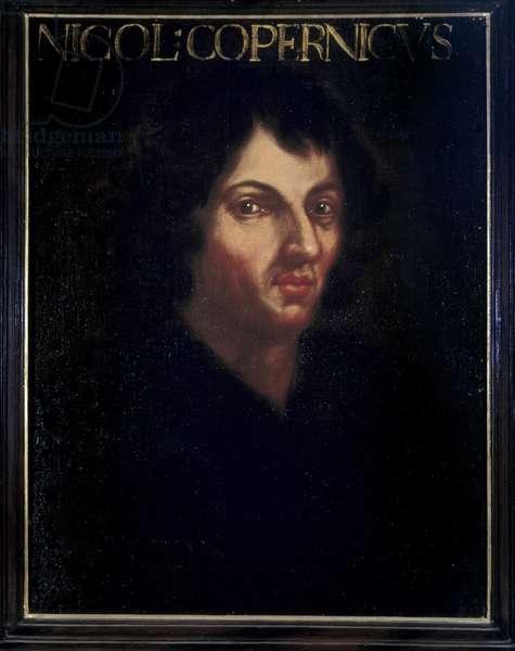 Portrait of Nicolas Copernicus (Nicolaus Copernicus, 1473-1543), a Polish doctor and astronomer.