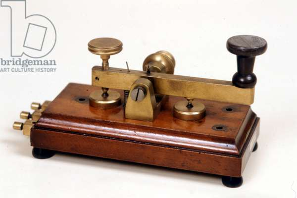 Telegraphic manipulator of Morse.