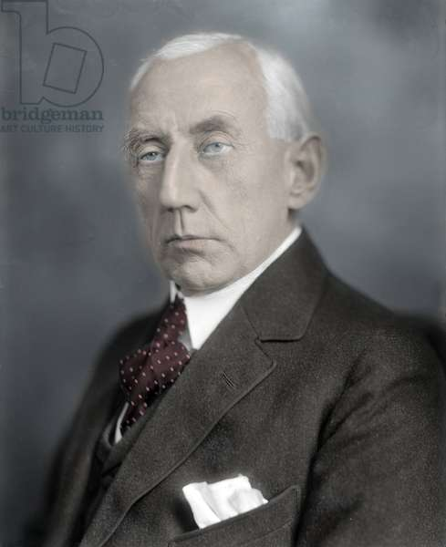 Portrait of Roald Amundsen (1872 - 1928).