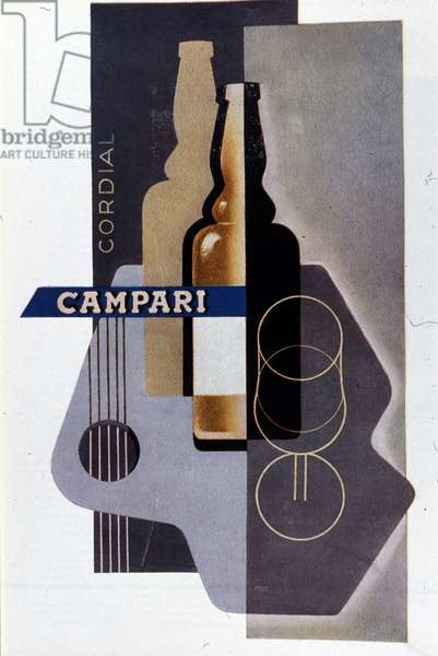 Advertising for Campari. Italy. Beginning of the 20th century.