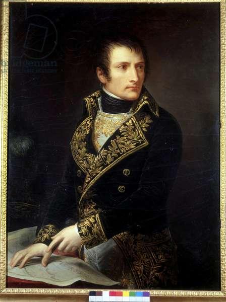Portrait of Bonaparte Premier Consul - by Andrea Appiani. Museo del Risorgimento. Milan