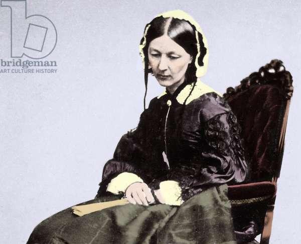 Florence Nightingale (1820-1910), 1854