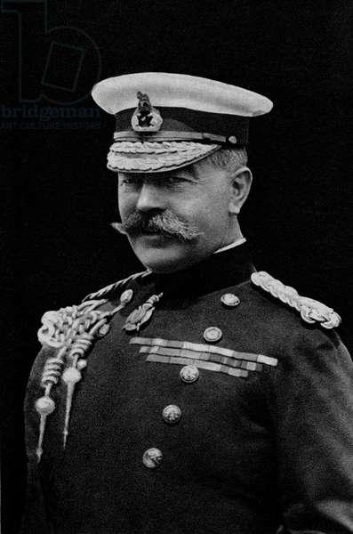Portrait of Lord Kitchener of Karthoum (1850-1916), English military.