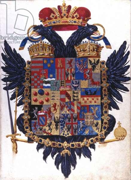 Blazon of the Austrian Empire Hungary, 18th century