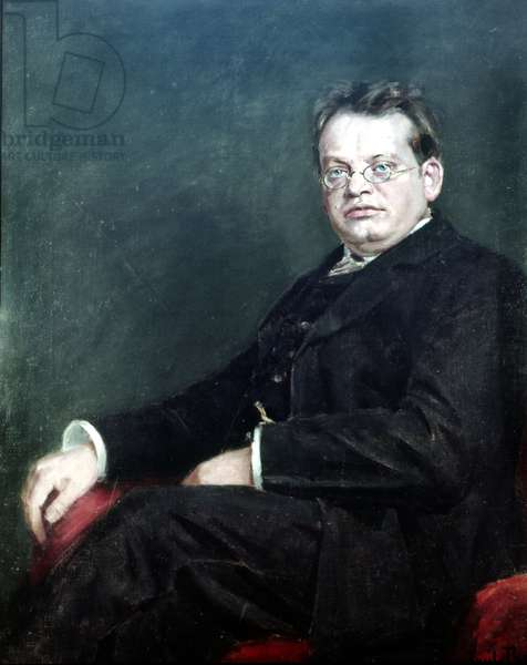 Max Reger (oil on canvas)