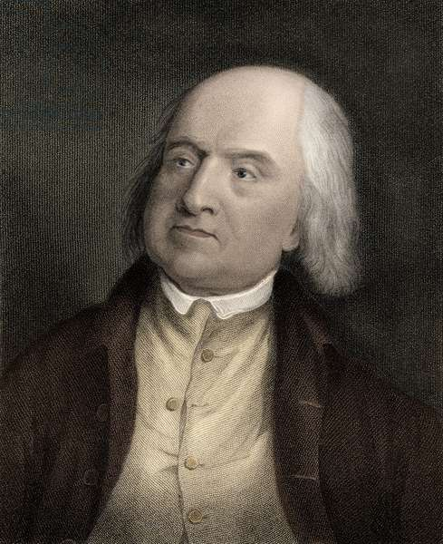 Portrait of Jeremy Bentham (1748-1832), English philosopher, economist, and theoretical jurist