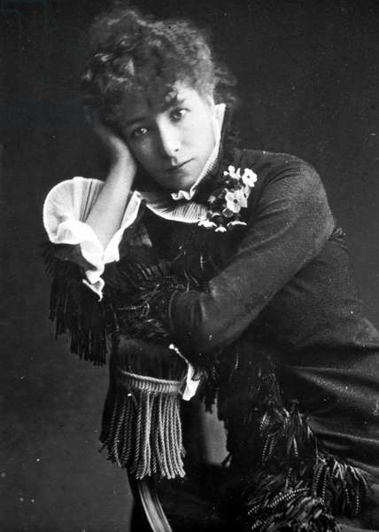 Portrait of Henriette Rosine Bernard dit Sarah Bernhardt (1844-1923)