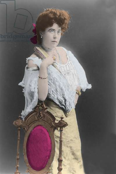 Titanic Disaster, 1912: portrait of Margaret Molly Brown (1867-1932) survivor of the Titanic sinking. Photography
