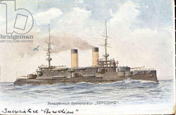 Bateau russe Borodino, 1904