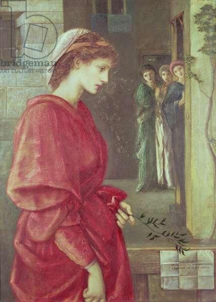 Beatrice, 1870 (gouache)