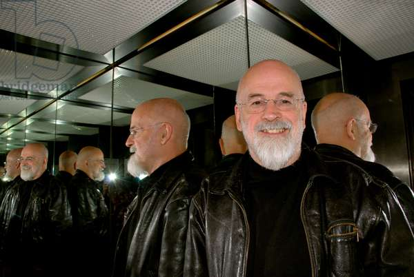 Portrait of the British writer Terence David John Pratchett, known as Terry Pratchett. 11/2007
