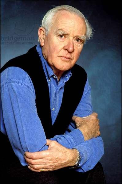 Portrait of John Le Carré.