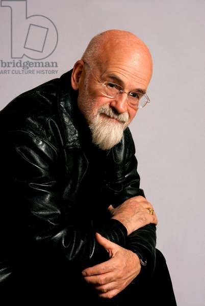 Portrait of the British writer Terence David John Pratchett, known as Terry Pratchett. 11/2007