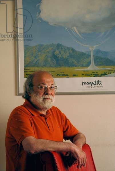 Portrait of the Thinker and Writer Haim Baharier June 2008
