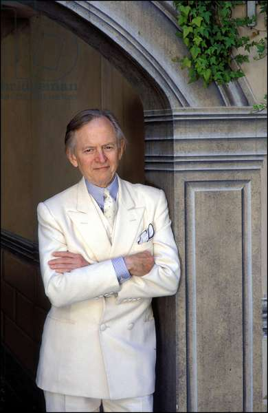 Portrait of the writer, Tom Wolfe.