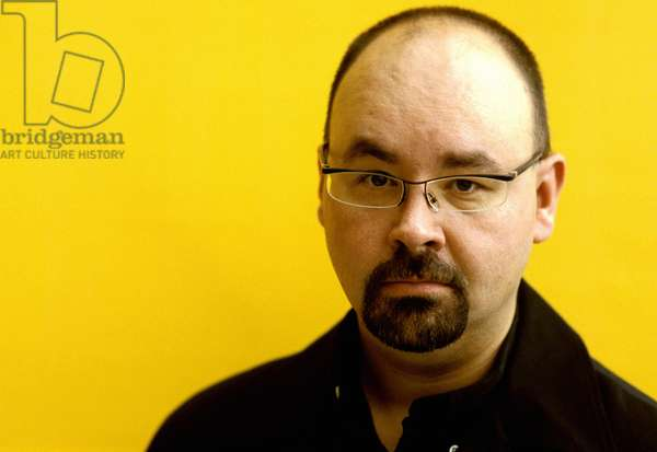 Portrait of the writer, Carlos Ruiz Zafon.