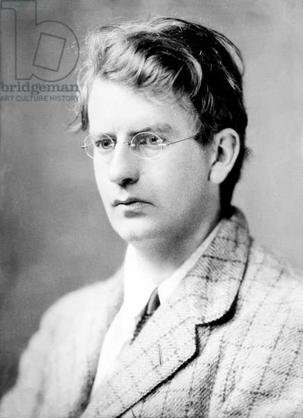 Portrait of Scottish engineer John Logie Baird (1888-1946), inventor of television systems. About 1920