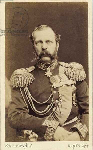 The Emperor Alexander II of Russia (Alexander II, Alexander Nikolaievich Romanov, Alexander II Nikolaevich) (1818-1881) Photography