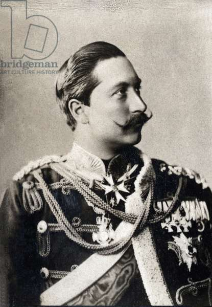 Portrait of William II of Germany (1859-1941), King of Prussia and Emperor of Germany.