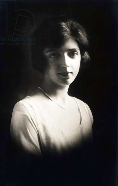 Portrait of the Italian Princess Mafalda of Savoy (Savoia) (1902-1944) around 1920