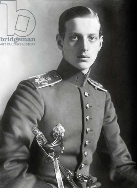 Portrait of Dimitri (Dmitri) Pavlovich (Pavlovich Romanov, Grand Duke of Russia (1891-1942) in 1918