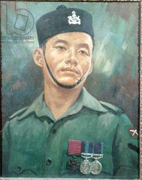Lance Corporal Rambahadur Limbu VC, 1966 (oil on canvas)