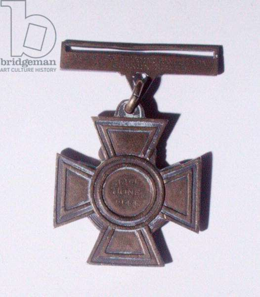 Victoria Cross of Captain Ganju Lama VC, MM (1924-99) 1944 (bronze) (obverse)