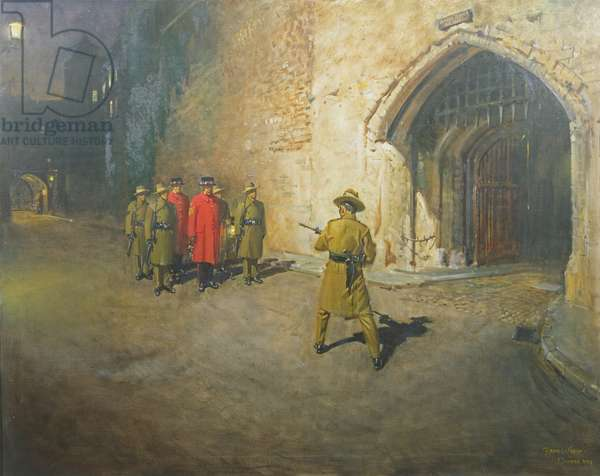 The Ceremony of the Keys, 1973 (oil on canvas)
