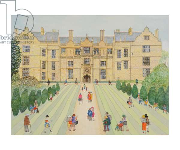 Montacute House (w/c on paper)