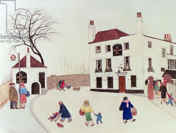 The Spaniard's Inn, Hampstead Heath