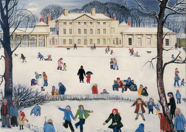 Kenwood House, 1980 (w/c on paper)