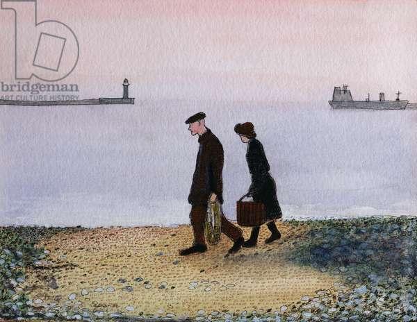 Evening Tide, Cornwall, 1982