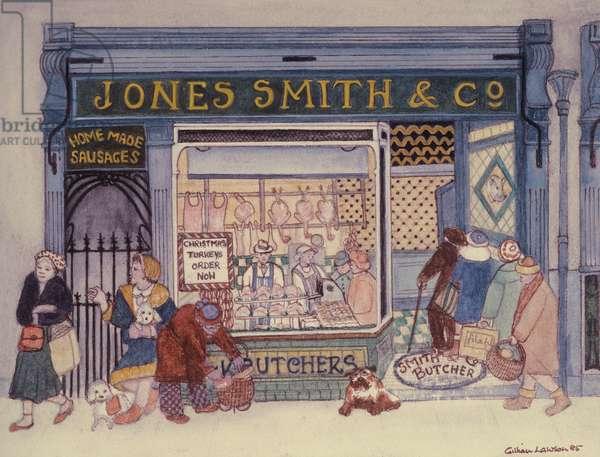 Jones Smith & Co., Butcher's Shop