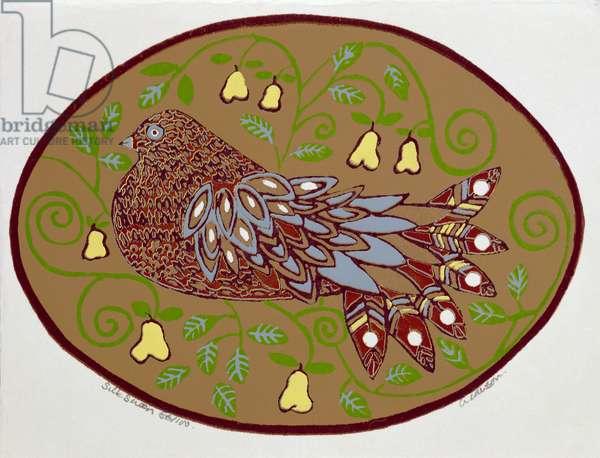 Partridge in a Pear Tree (print)