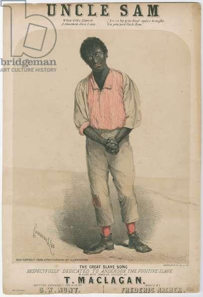 Uncle Sam, c.1853-63 (litho)