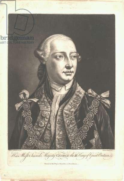 George III, c.1755 (mezzotint)