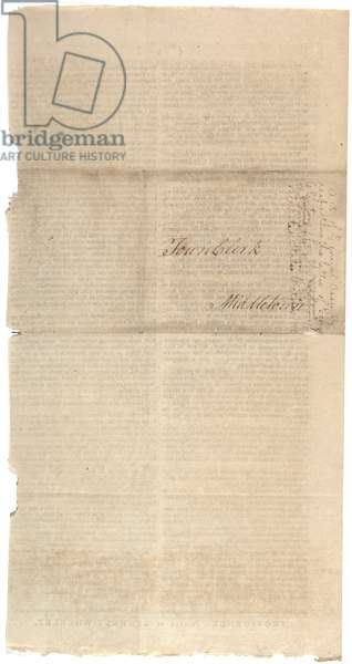 Resolutions printing NYS proposal for amendments to Constitution, October 1788 (litho)