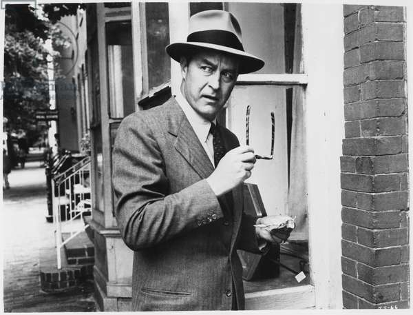 Ray Milland, on-set of the Film,