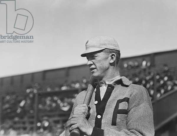 Grover Cleveland Alexander, Major League Baseball Player, Philadelphia Phillies, Half-Length Portrait, Bain News Service, 1911 (b/w photo)