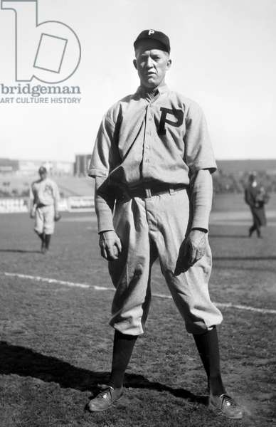 Grover Cleveland Alexander, Major League Baseball Player, Philadelphia Phillies, Full-Length Portrait, Bain News Service, 1914 (b/w photo)